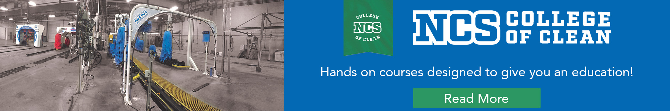 NCS College of Clean | MacNeil Wash Systems