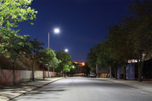 Street-light-using-LUXEON-LEDs-lights