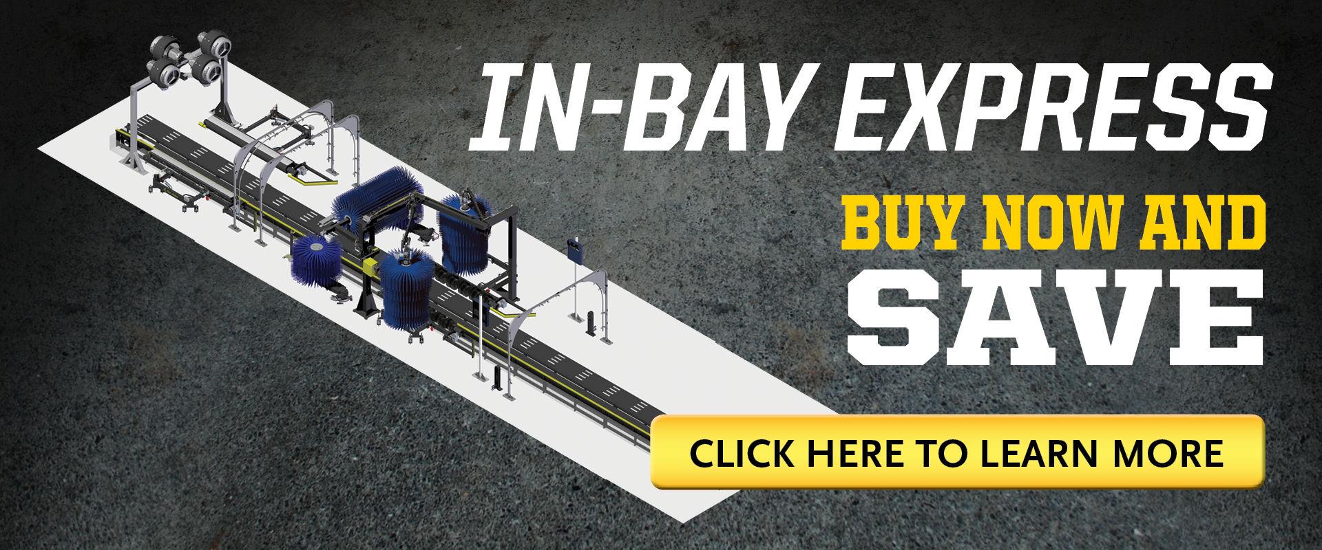 In Bay Express Promotion | MacNeil Wash Systems