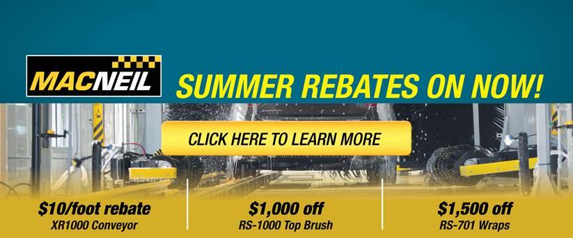 2017 Summer Rebates