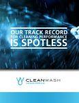 CleanWash Formulas Brochure